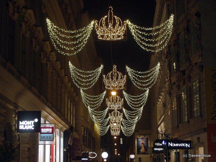 Christmas decoration in Vienna, Austria   Dream destinations in 2018 ...