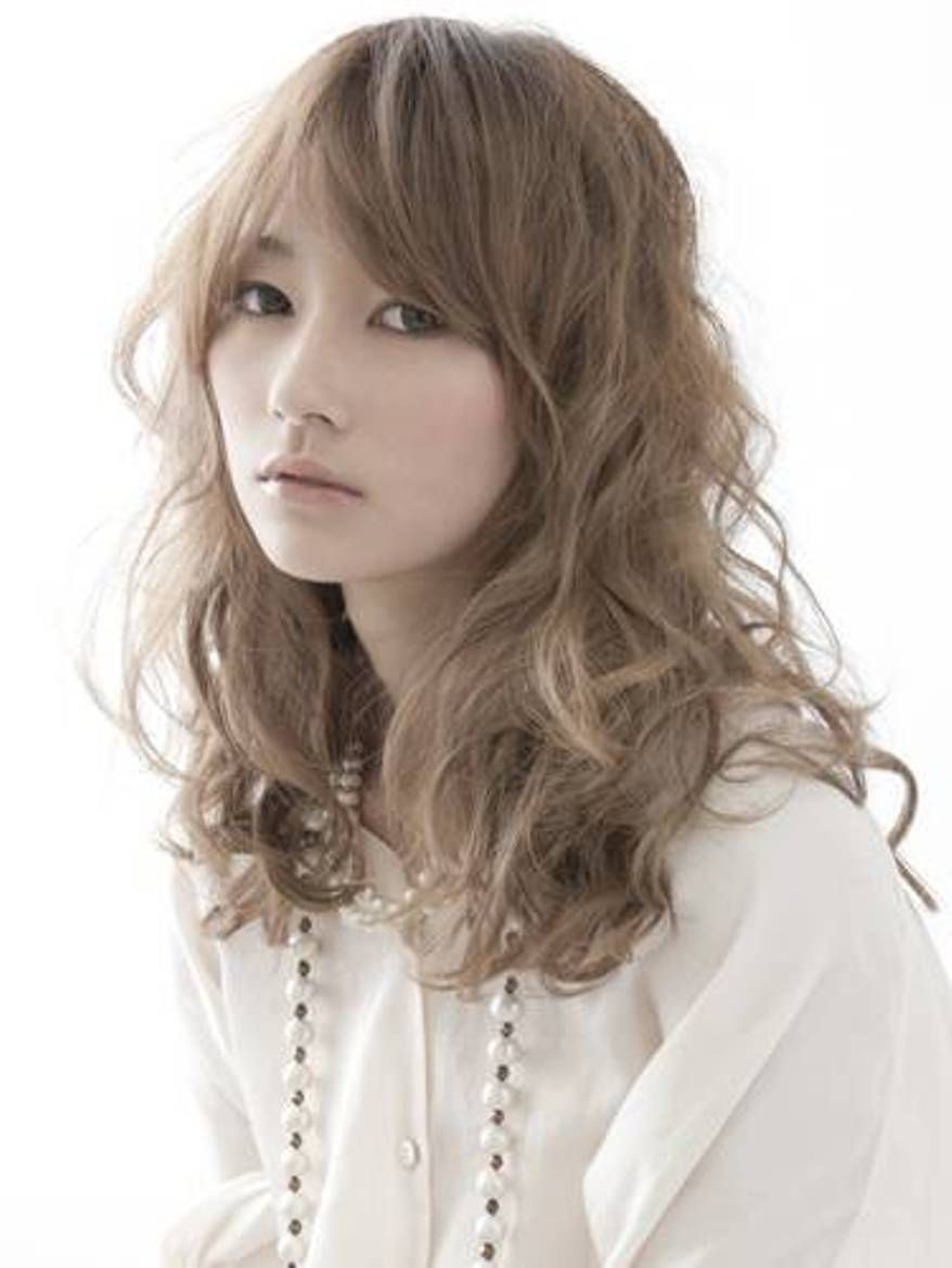 long curly japanese hairstyles - celebrity plastic surgery photos