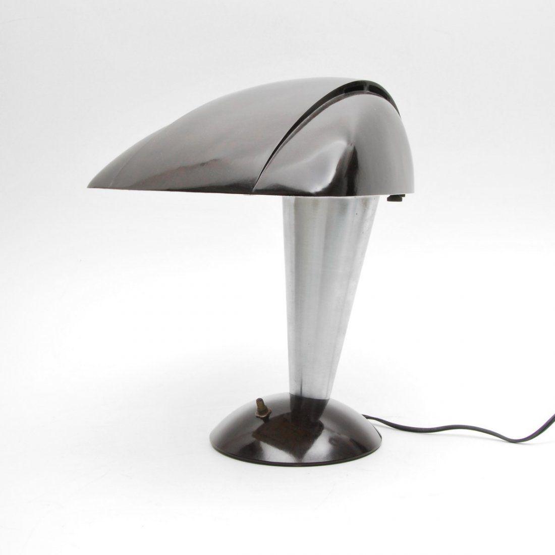"Walter Dorwin Teague ""Polaroid"" Lamp Designer"