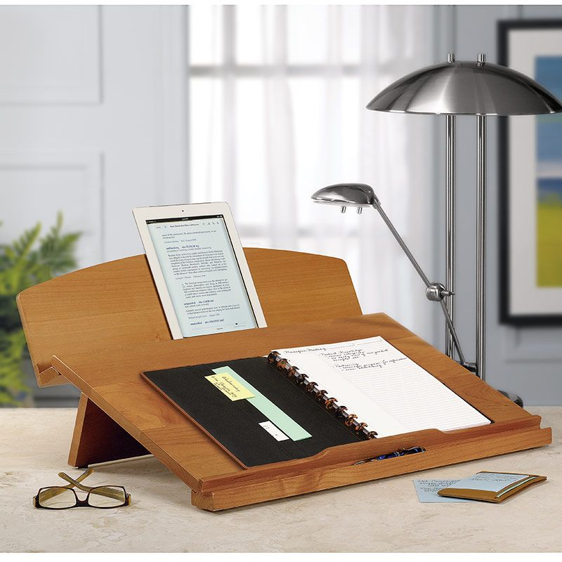 Editor S Desk Portable Desk Writing Desk Ergonomic Desk Levenger Portable Desk Desk Wooden Book Stand