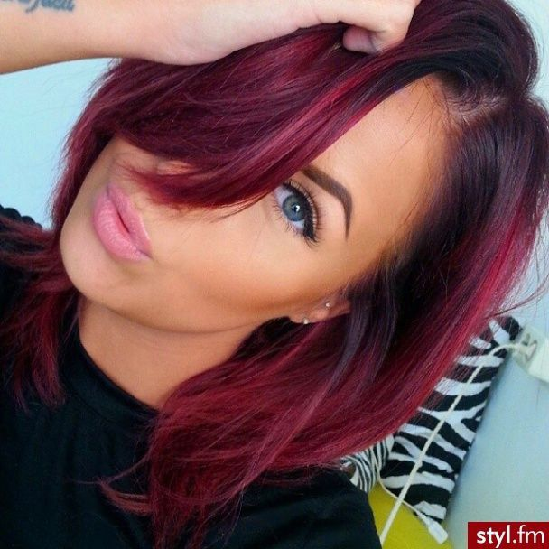 Cool Red Red Pinterest Hair Style Hair Coloring And Red Hair