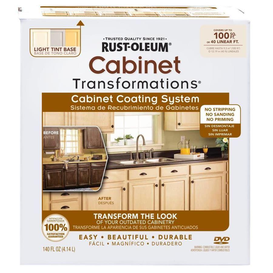 Kitchen Transformations: Rust-Oleum Cabinet Transformations Light Base Satin