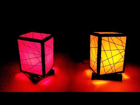 Lampara hazlo con sus manos c mo hacer l mpara con for Recycled paper lantern