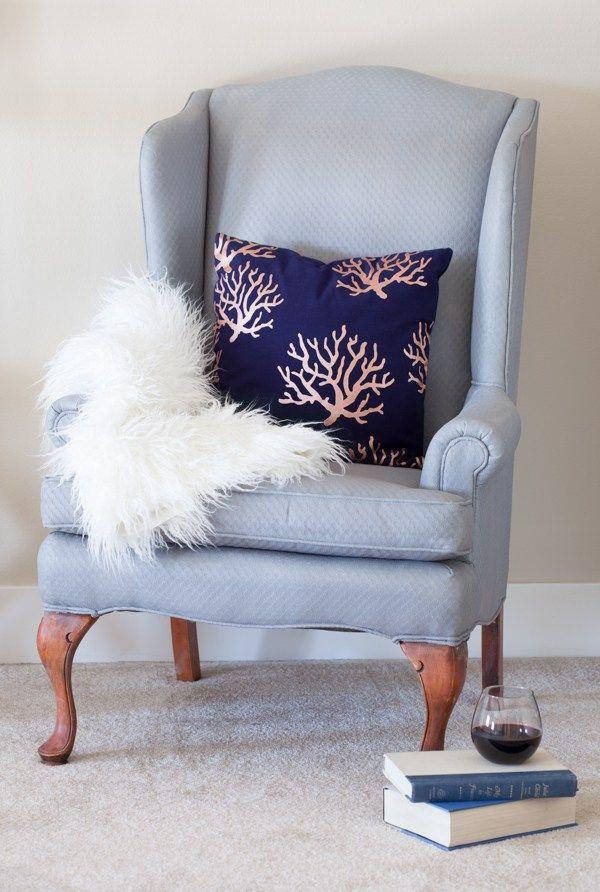 anden indretning Painted Fabric Chair (KREATING HOMES) | Malede møbler og anden  anden indretning
