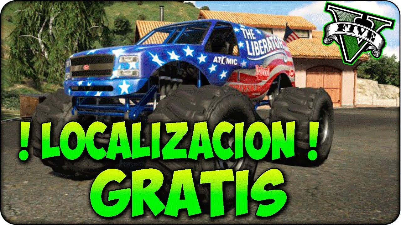 Gta 5 Monster Truck Liberator Ubicación En Gta 5 Localizacion Gta 5 Gta 5 Gta Conseguir Dinero