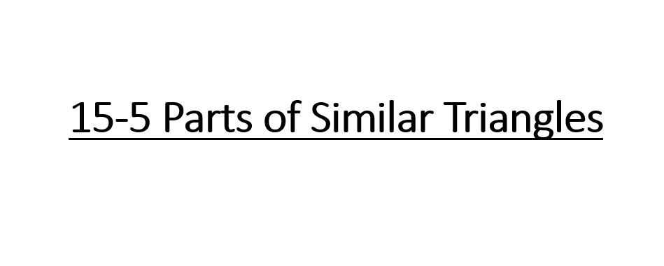 الرياضيات المتكاملة بوربوينت Parts Of Similar Triangles بالإنجليزي للصف التاسع Similar Triangles Math Math Equations