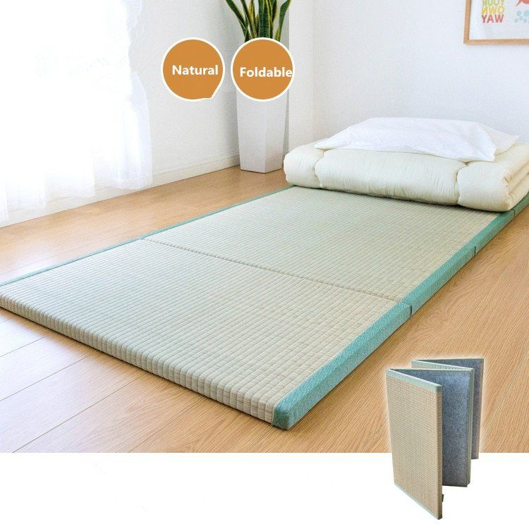 Best Foldable Tatami Mat Japanese Floor Straw Nap Sleeping Pad