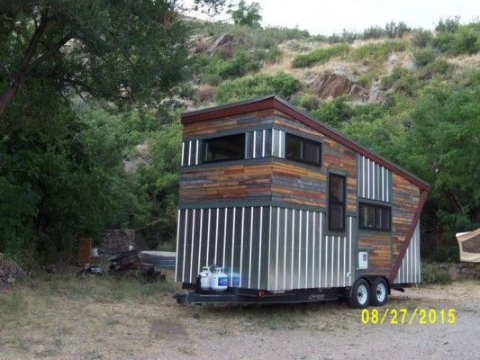 Comfy Micro Chalet On The Slopes Of Golden Co Tinyhouseforus