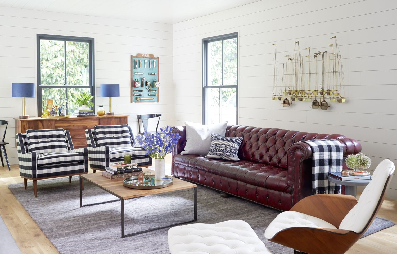 Styled: New Year + New Home | Schoolhouse electric, Living rooms and ...