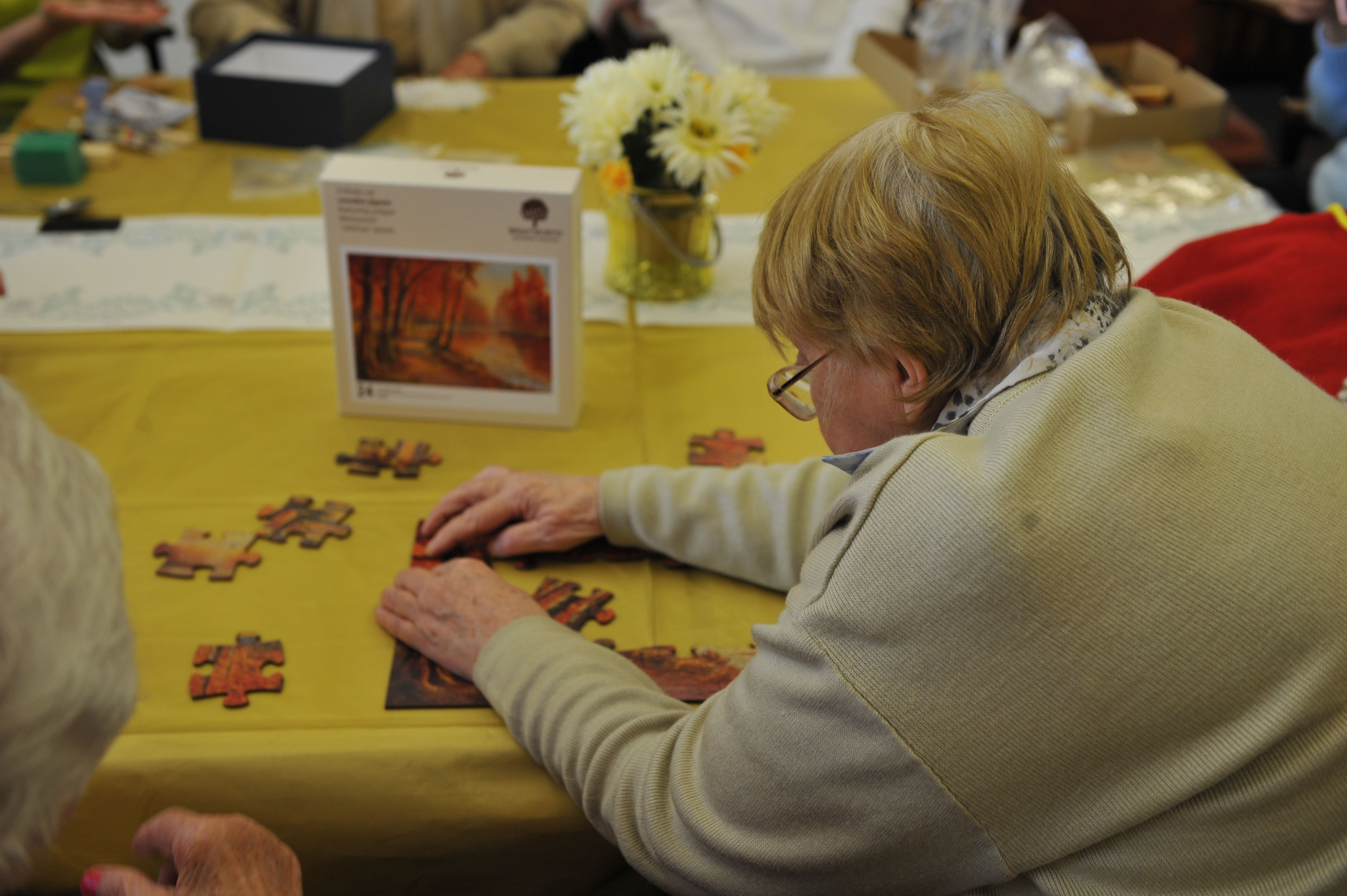 Jigsaw Puzzles Are Great For Cognitive And Fine Motor Exercise Calming And Relaxing Too We