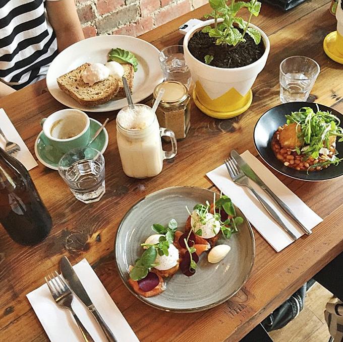 Cafe Brunch Menu Ideas