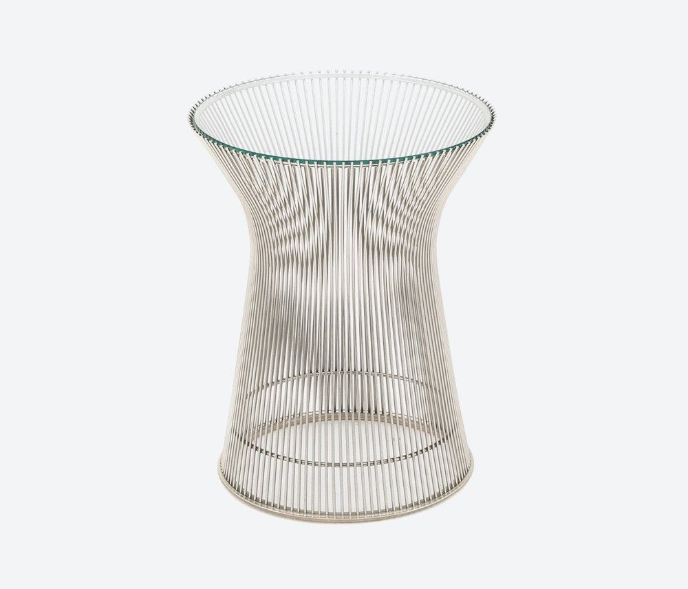 Platner Side Table designed by Warren Platner for Knoll. This product can  be found in the photography for the No Rules collection (Infinite + Vast).