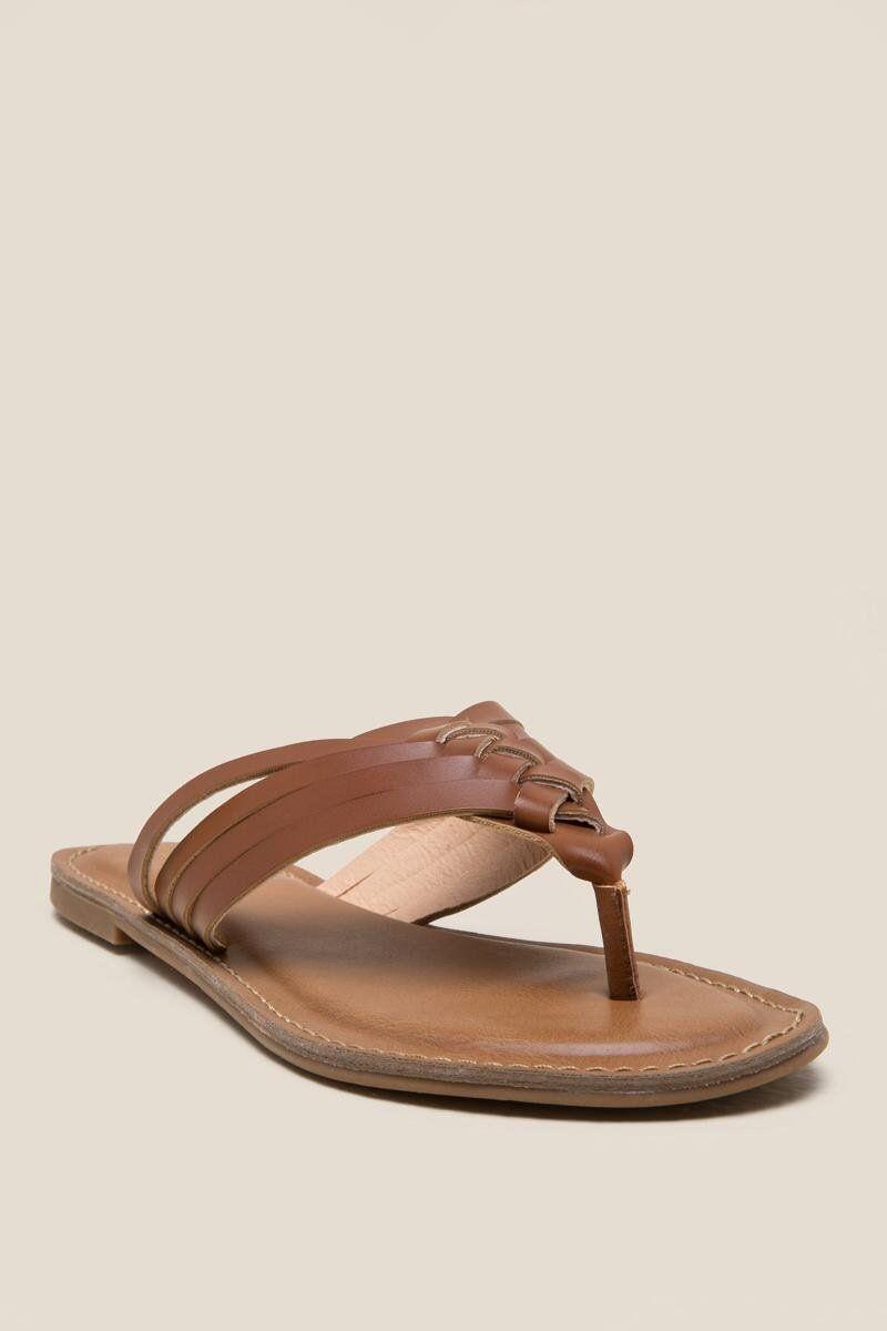 35e3d1610993 Remmy Braided Thong Sandal
