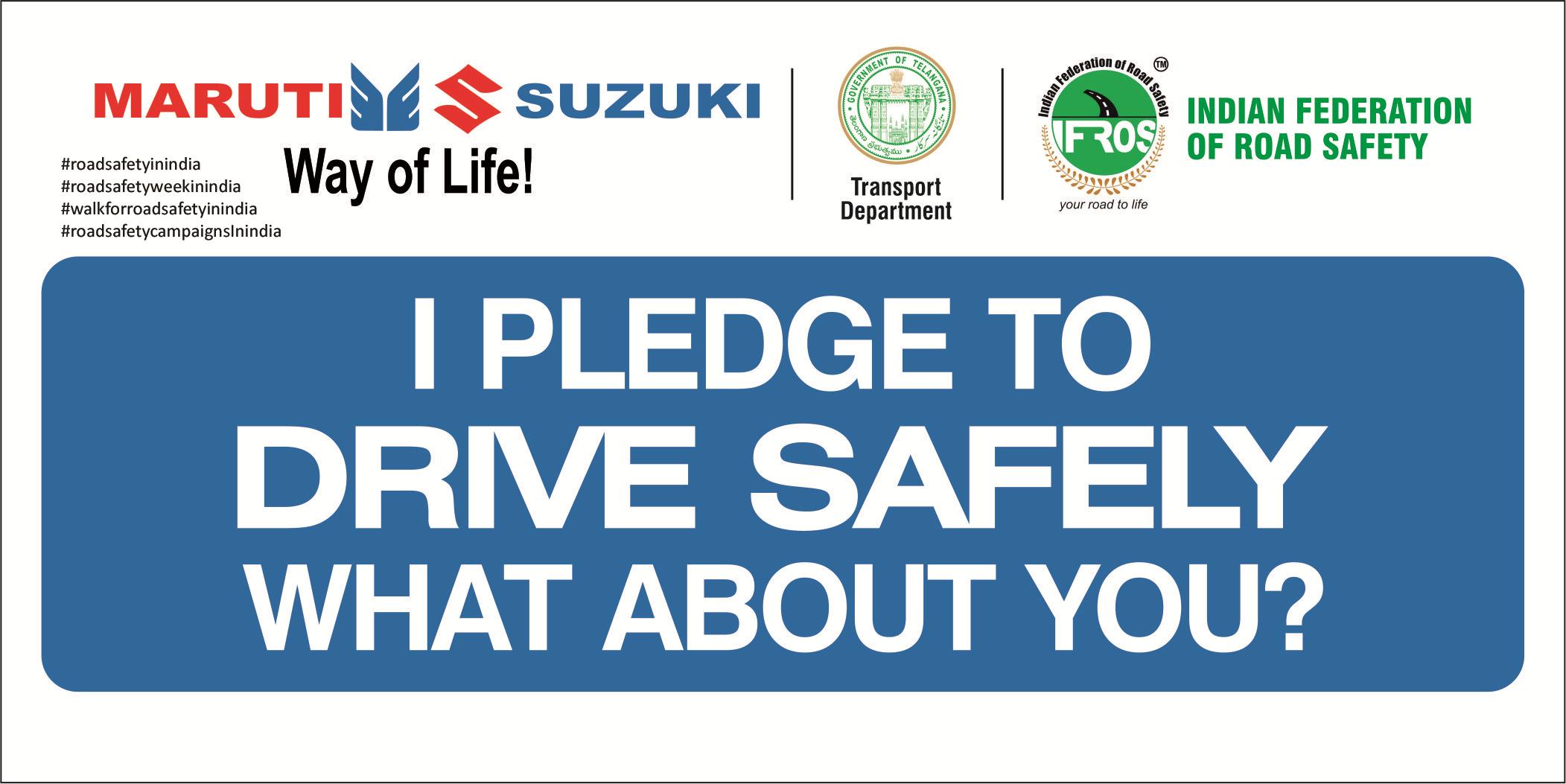 roadsafetypledgeinindia Road safety pledge must