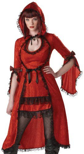 California Costumes Women\u0027s Red Riding Hood/Adult Costume,Red/Black - celebrity couples halloween costume ideas