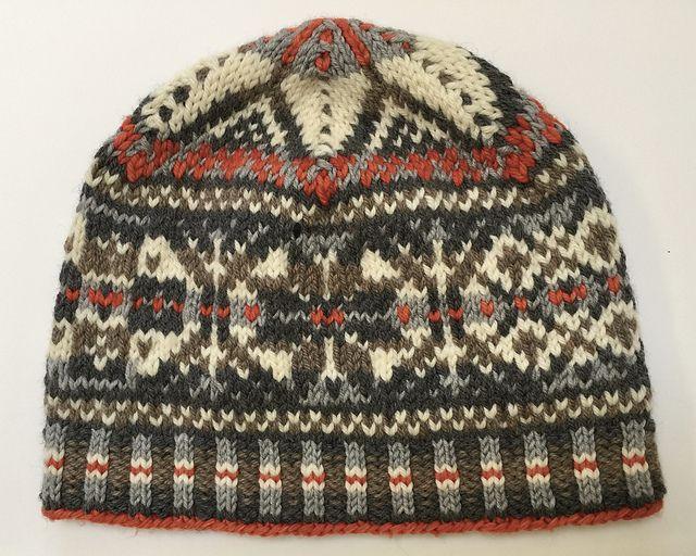 Whimsical Fair Isle Hat pattern by Chiaki Hayashi | Fair isles ...