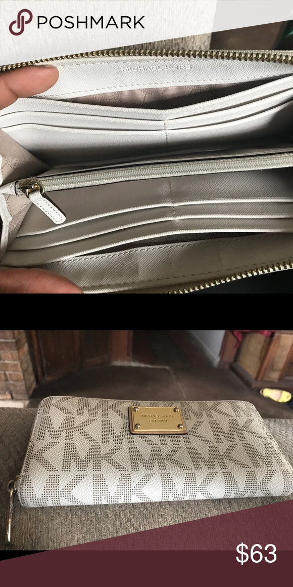 40e33564199 Michael Kors Wallet Authentic Mk wallet. Only used once! Got another one to  match my purse and don t need this one anymore KORS Michael Kors Bags  Wallets