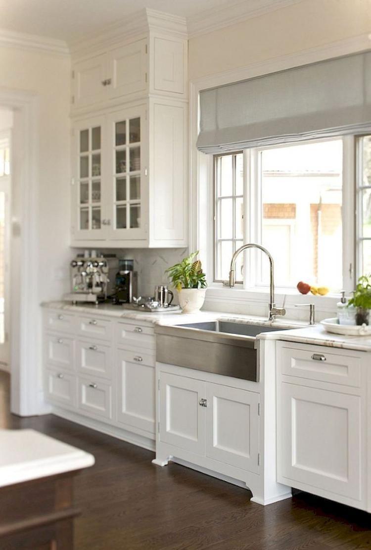 50 Modern Farmhouse Kitchen Decor Ideas Kitchen Cabinet