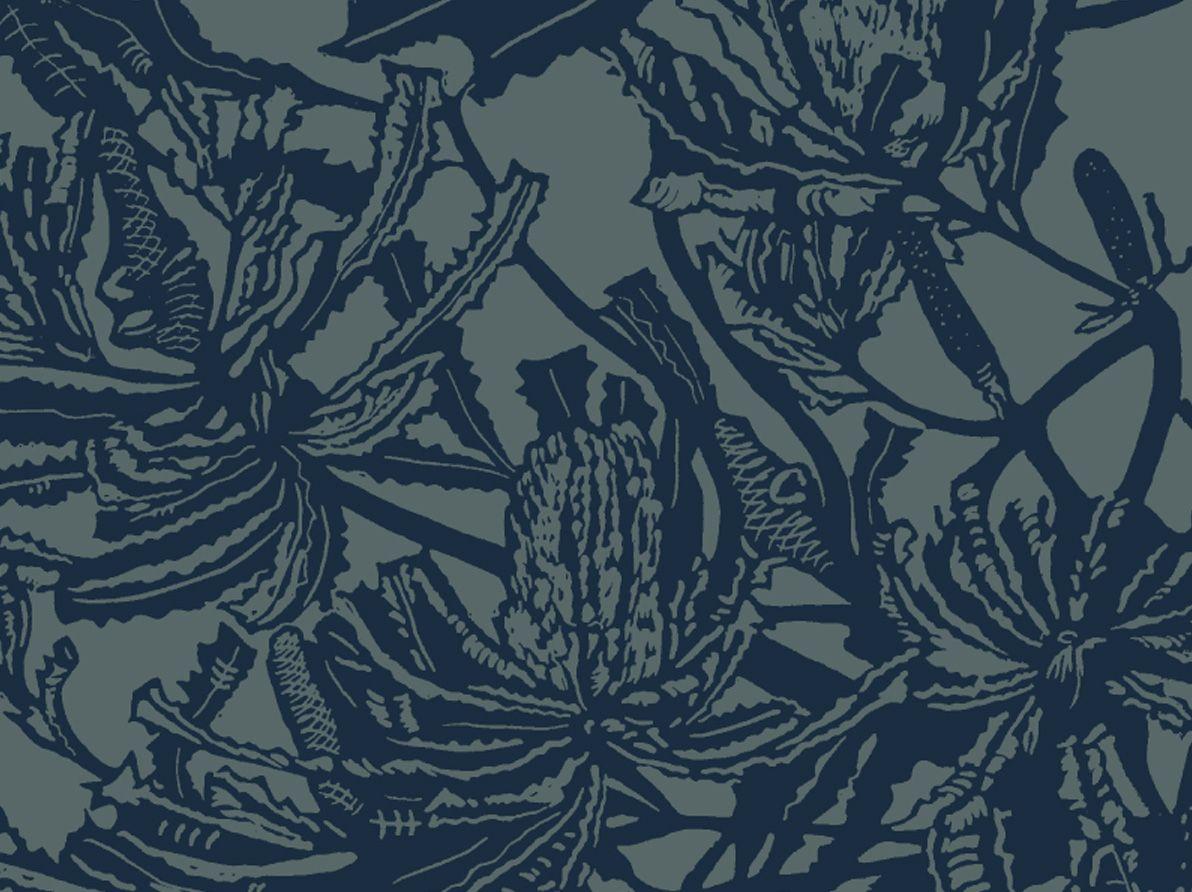 Banksia (Military & Loch) | Jude Taylor | Wildflower Art, Design & Fabric | Swan Valley, Perth, WESTERN AUSTRALIA