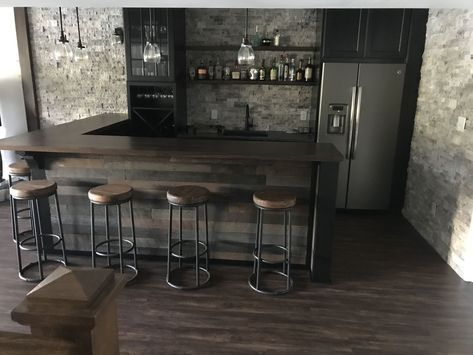 20 Insanely Cool Basement Bar Ideas For Your Home Well For Those Of You Who Want To Build Basement Bar Designs Man Cave Home Bar Basement Bar Plans