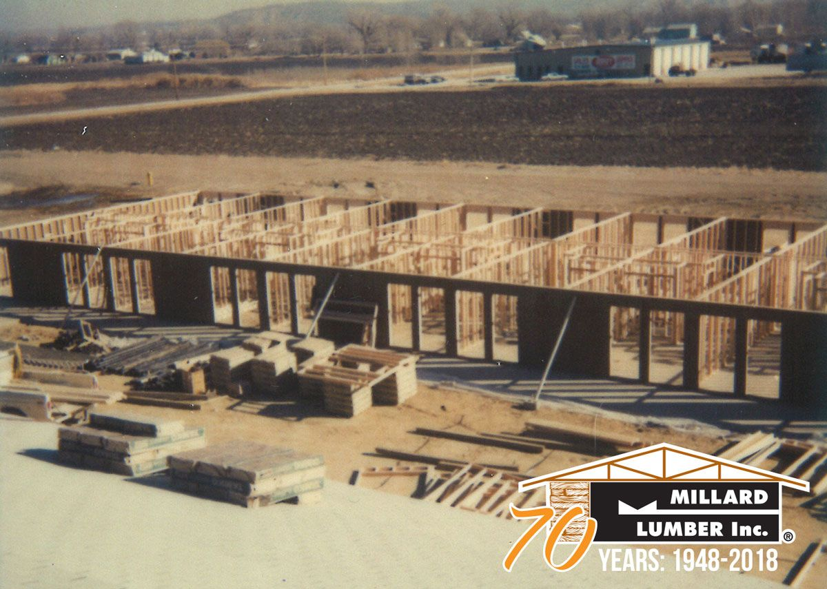 Prebuilt Walls Supplied By Millard Lumber For The Interstate Inn Motel In Council Bluffs Iowa In The 1970s Morethanlumber Anniv Lumber Council Bluffs Years