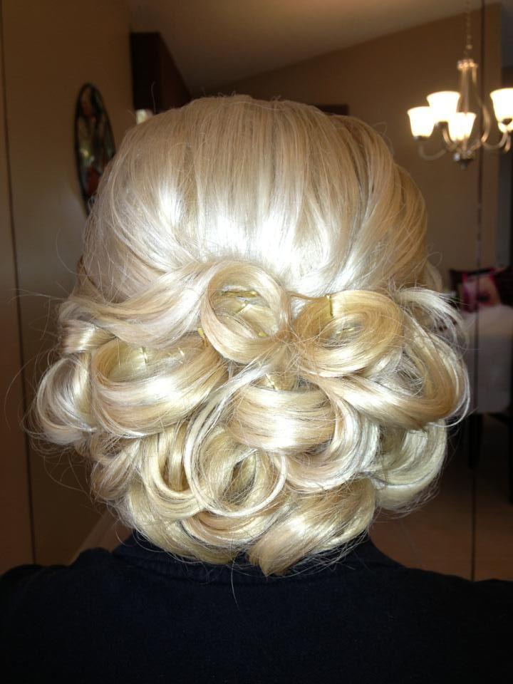Bridal updo wedding hair extensions prom hair braided