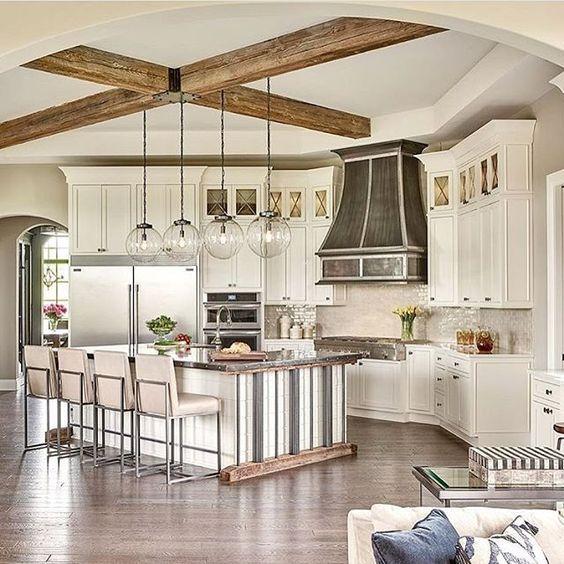 ♡ ᒪOᑌIᔕE ♡ Architecture Pinterest Kitchens, White wood