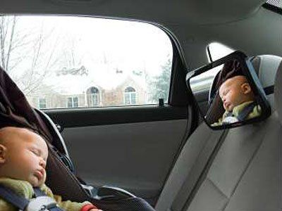 Comfi Safe Baby Car Mirror Best Infant Seats Back Seat Premium High Quality MirrorCrystal Clear Safety Top Wide Angled
