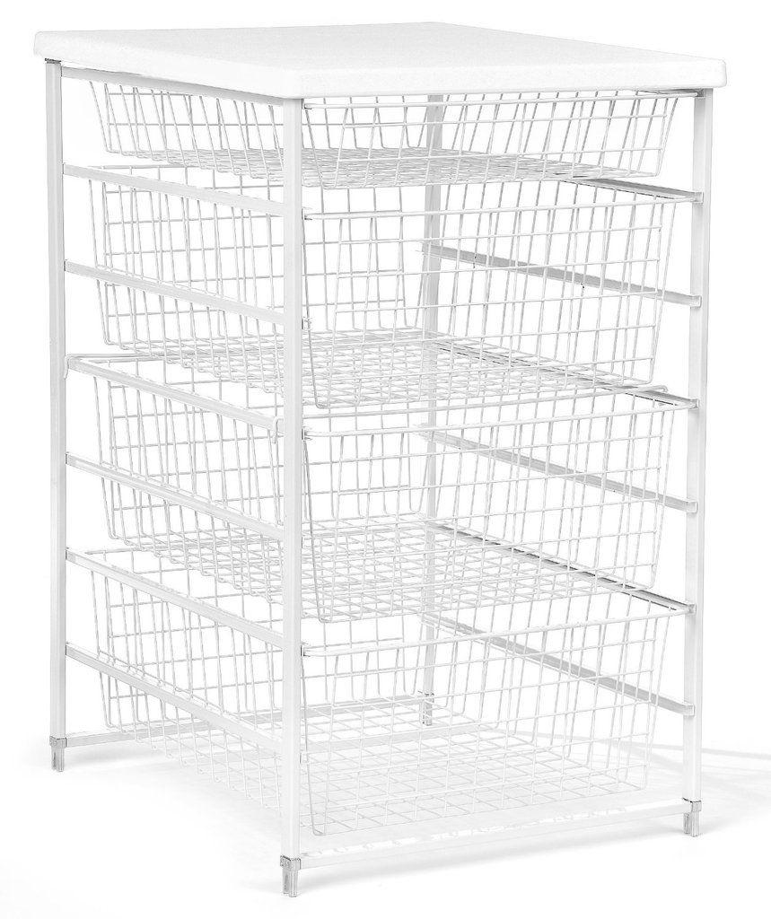 Closetmaid 6201 7 Runner Drawer Kit 17 White In 2020 Storing Towels Closet Storage Drawers Drawers