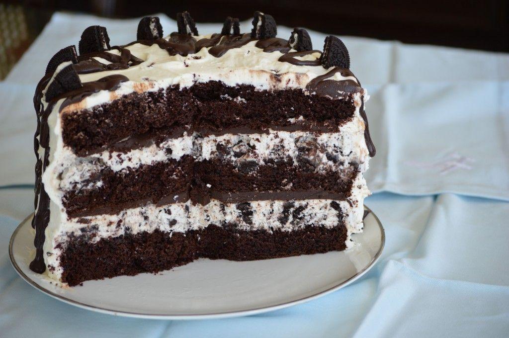 Cookies n cream ice cream cake deserts pinterest