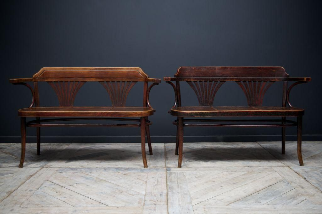 Amazing Two Seater Bentwood Bench By Thonet 5 Benches Bench Gmtry Best Dining Table And Chair Ideas Images Gmtryco