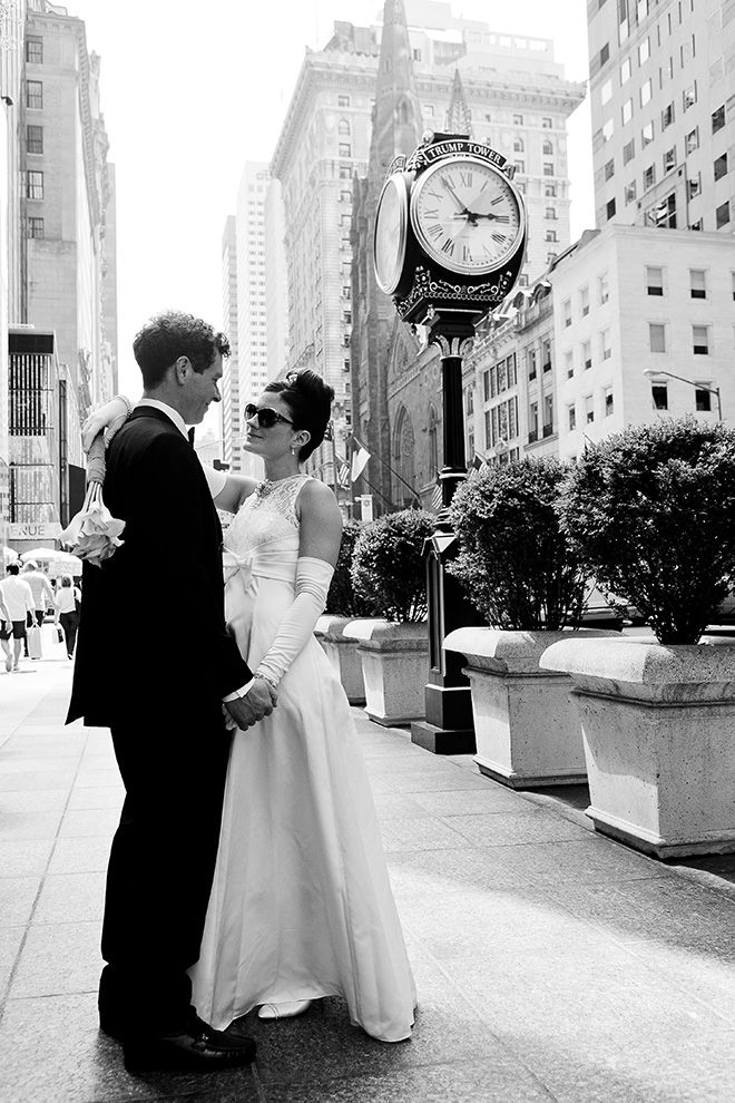 Wedding Shoot In New York Inspired By The Iconic Film At 5th Avenue Tiffany Co Flagship