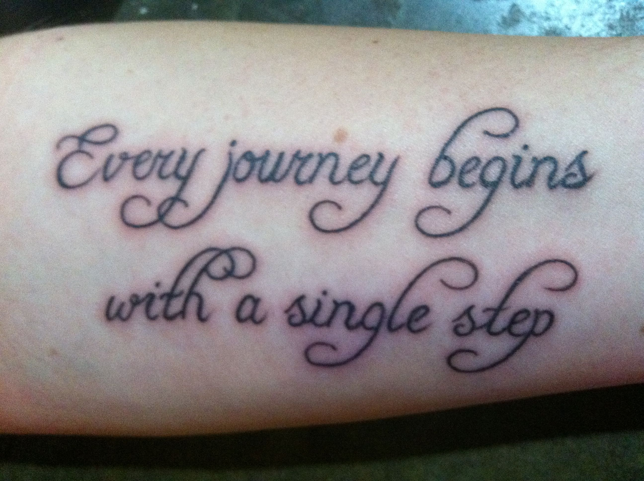 Every journey begins with a single step,  Many paths will be entered with that single step!  Don't be afraid!