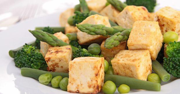 Refrito de judías verdes con tofu (4p)