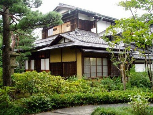 modern japanese house architecture designs ideas trees plants