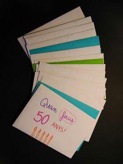 OPEN WHEN idea de regalo original que consiste en cartas al