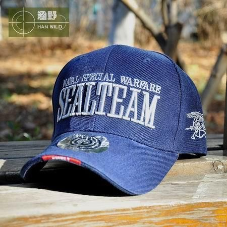 0ac485470a6 HAN WILD Genuine Outdoor New Hot Navy Baseball Caps Men Women SEALs  Tactical Caps Army Fans