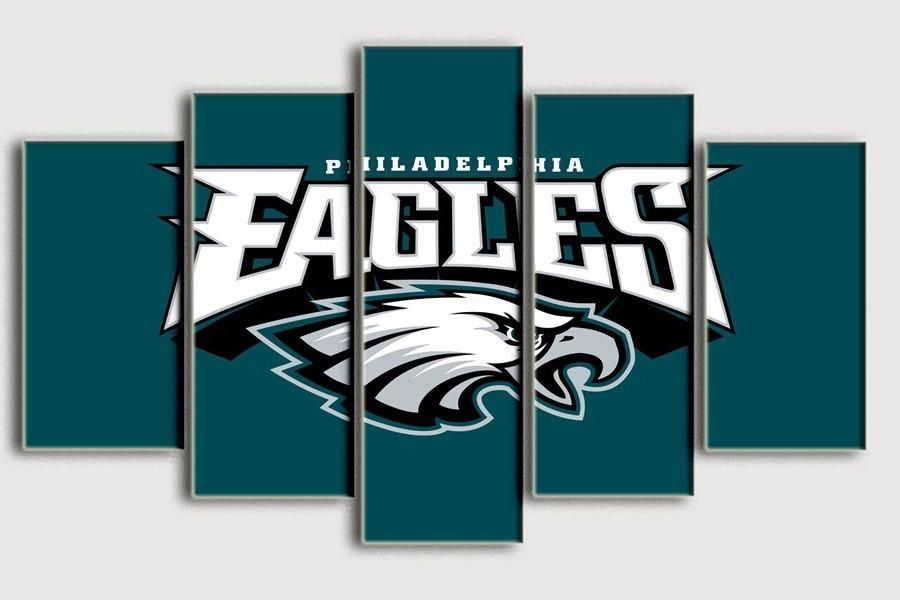 Philadelphia Eagles Modern Home Wall Decor Painting Canvas Art Best Funny Store Wall Decor Painting Canvas Football Wall Art Canvas Wall Decor
