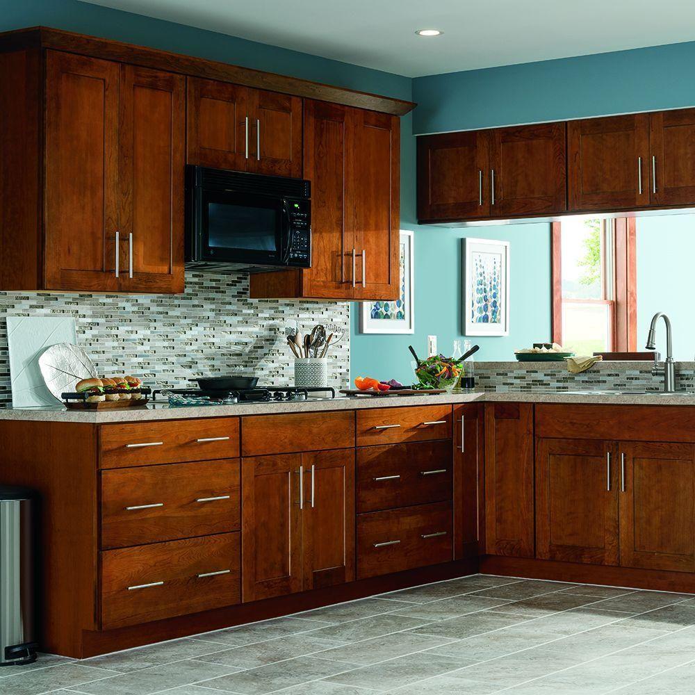 Thomasville Studio 1904 Yuma Whiskey Black Kitchen Cabinets Home Home Decor