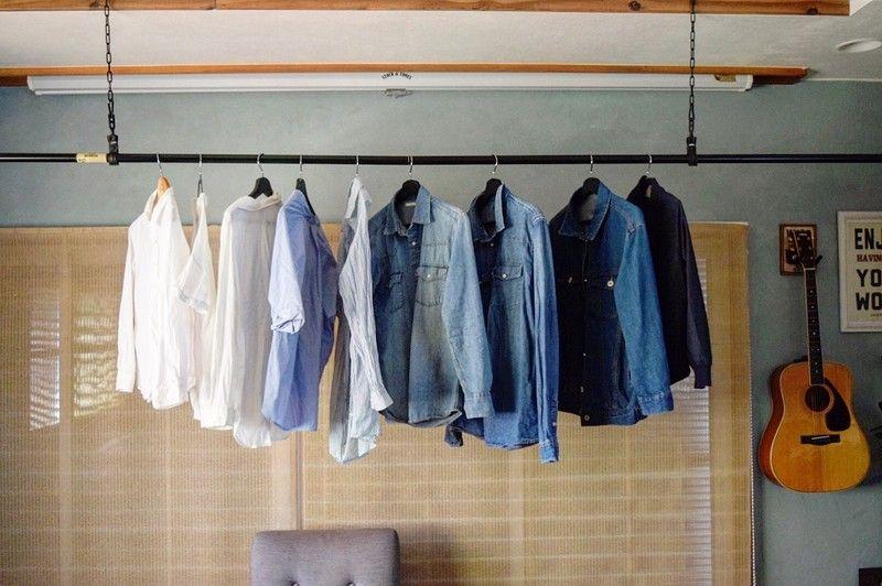 Diyで挑戦 かっこいい部屋干しの物干し竿をホームセンターの材料で