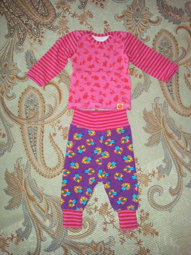 Shirt und Hose nach der zwergenverpackung von farbenmix ☆ ★ ☆ genäht von Sarah D.