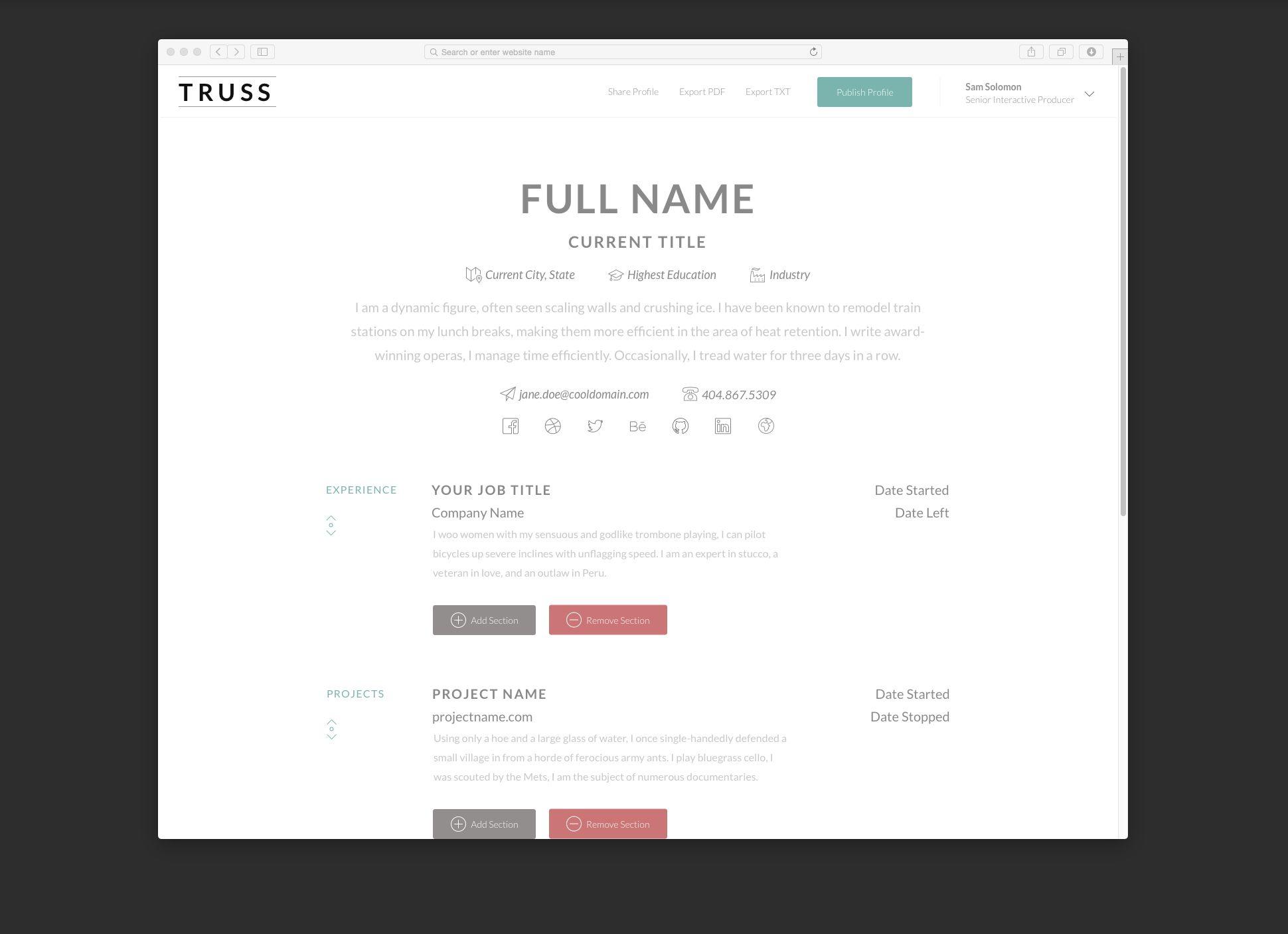 resume builder website top websites for posting your | Home Design ...