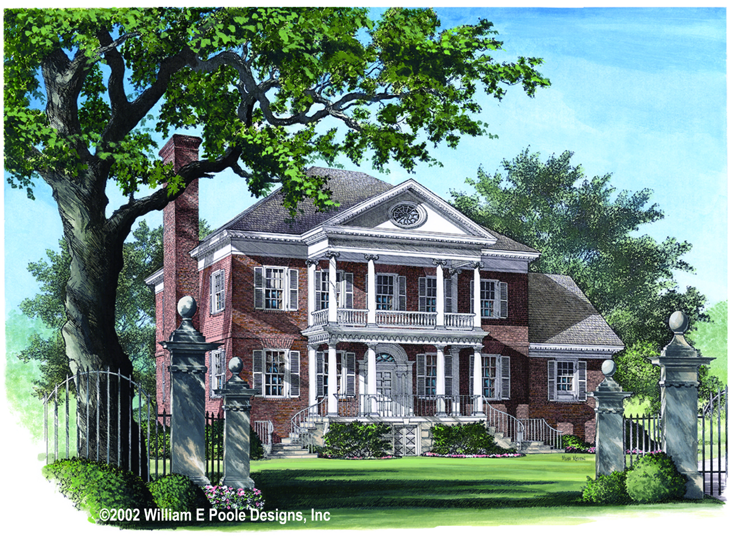 plan 32471wp majestic 5 bedroom southern house plan southern
