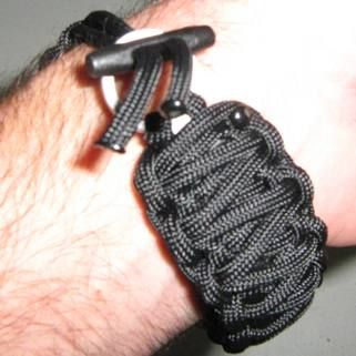Paracord Bracelet With Hidden Survival Knife Prep Pinterest