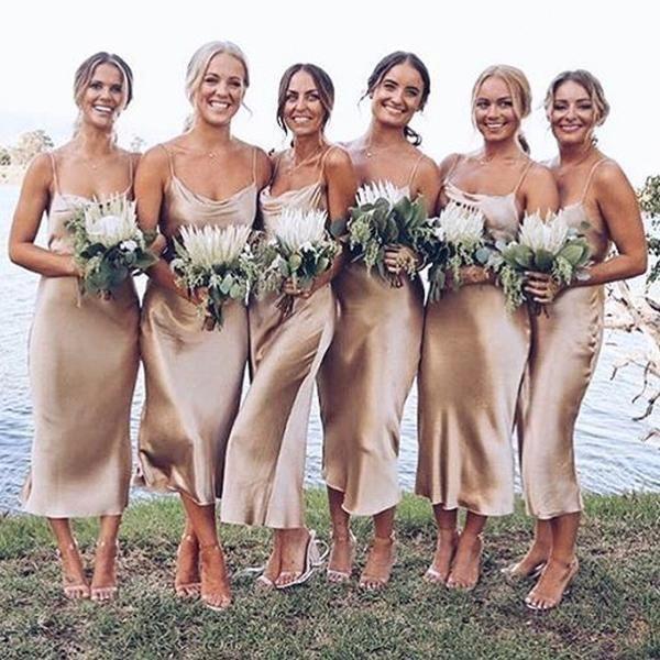 36+ Champagne silk bridesmaid dresses trends