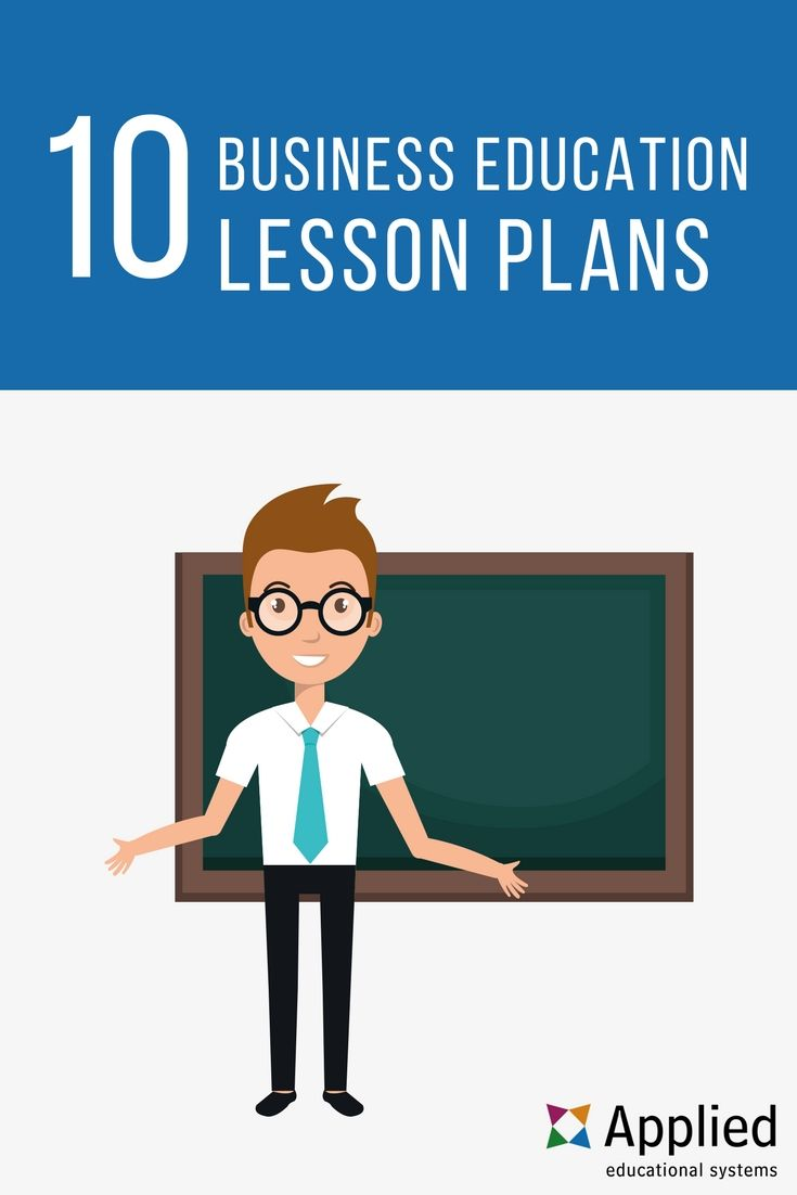 Lesson Plans For Business Teachers