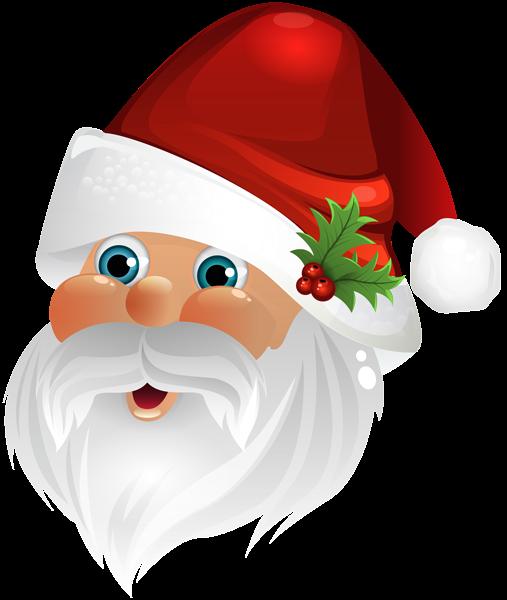 Santa Claus Face Transparent Clip Art Image Art Images Christmas Images Wallpaper Clip Art