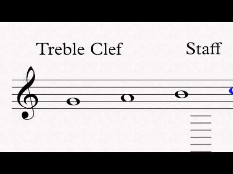 Musivu Basic Concepts of Music Free Sample Notes TREBLE CLEF - sample notes