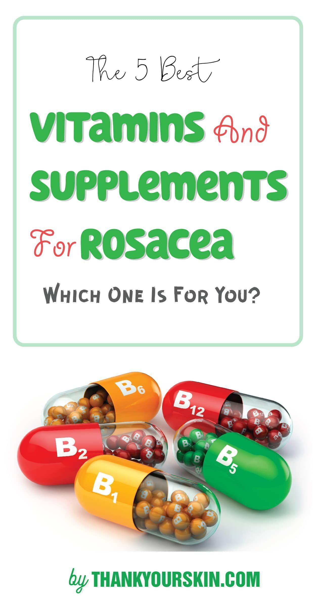 vitamins for rosacea