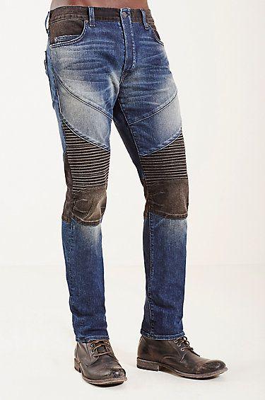 Rocco Skinny Moto Mens Jean Tipo De Pantalones Pantalones Moda Hombre